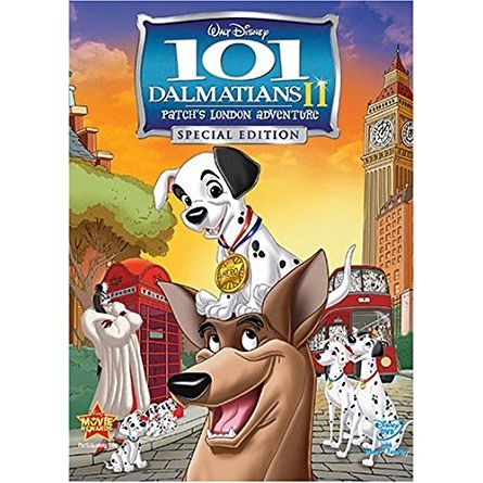 101 Dalmatians II: Patch's London Adventure Kids Movie DVD