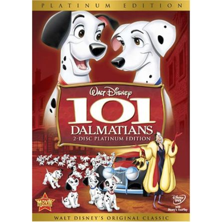 101 Dalmatians Kids Movie DVD