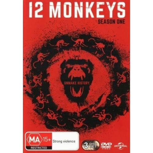 12 Monkeys Season 1 DVD Wholesale