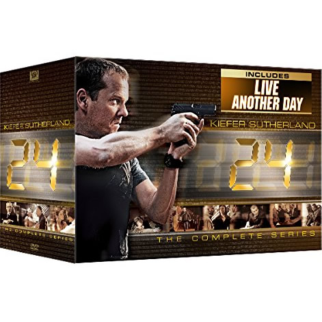 24 DVD Complete Series Box Set