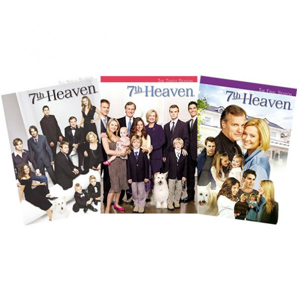 7th Heaven DVD Complete Series 9-11 Box Set