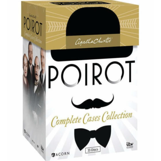 Agatha Christie's Poirot: Complete Cases Collection DVD Box Set