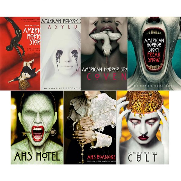American Horror Story DVD Complete Series 1-7 Box Set