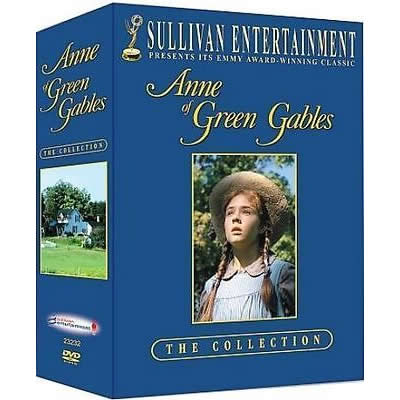 Anne of Green Gables DVD Complete Series Box Set