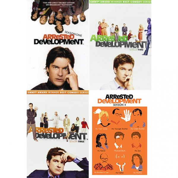 Arrested Development DVD Complete Series 1-4 Box Set