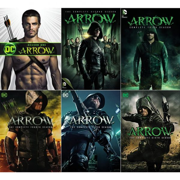 Arrow DVD Complete Series 1-6 Box Set