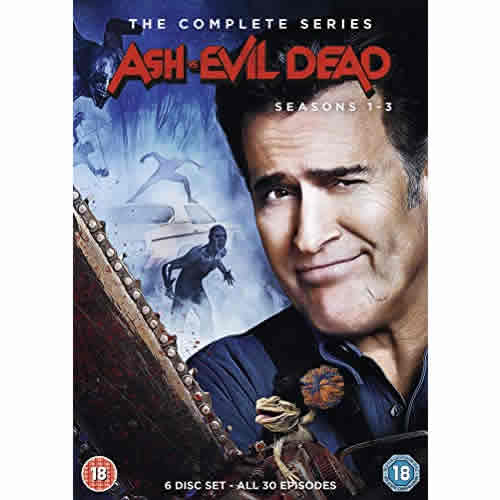 Ash vs Evil Dead DVD Complete Series 1-3 Box Set