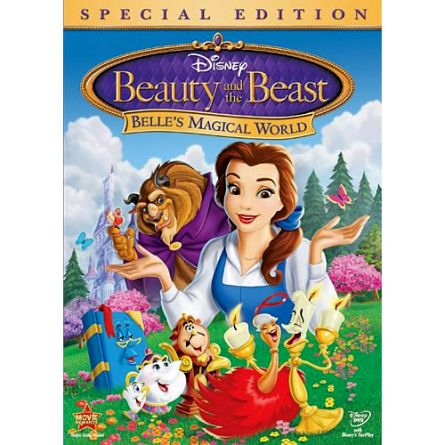 Beauty and the Beast: Belle's Magical World Kids Movie DVD