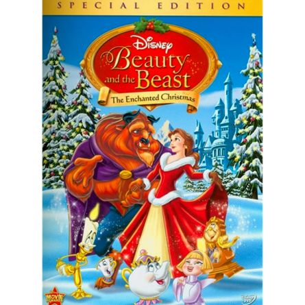 Beauty and the Beast: The Enchanted Christmas Kids Movie DVD