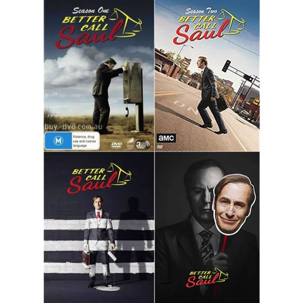Better Call Saul DVD Complete Series 1-4 Box Set