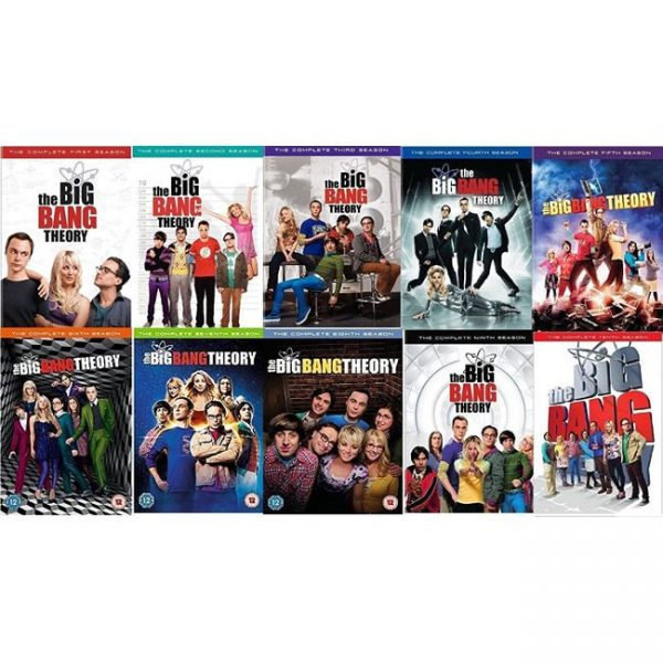 The Big Bang Theory DVD Complete Series 1-10 Box Set