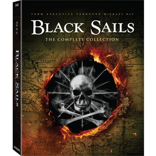 Black Sails DVD Complete Series Box Set