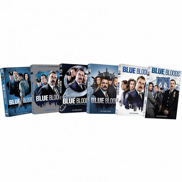 Blue Bloods DVD Complete Series 1-6 Box Set