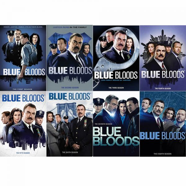 Blue Bloods DVD Complete Series 1-8 Box Set