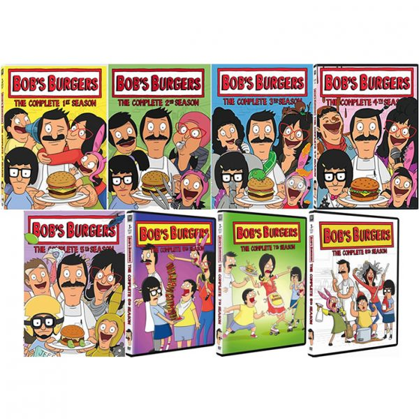 Bob's Burgers DVD Complete Series 1-7 Box Set