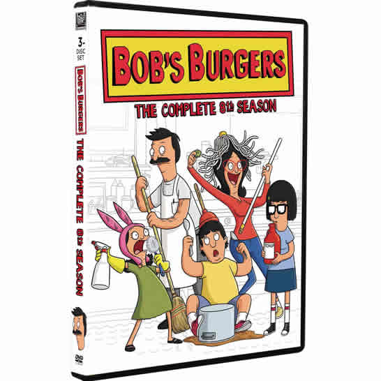 Bob's Burgers Season 8 DVD Wholesale