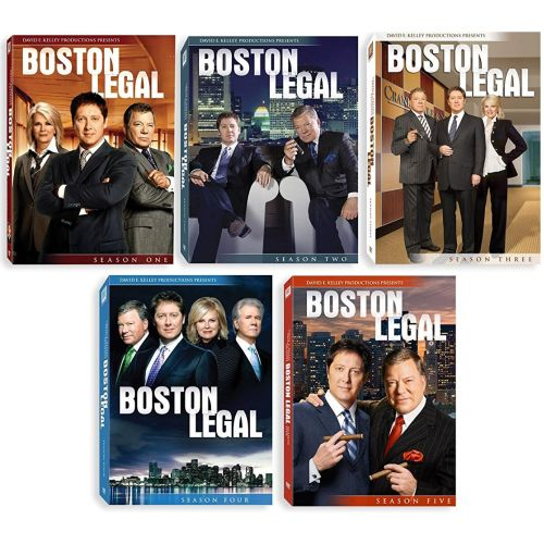 Boston Legal DVD Complete Series 1-5 Box Set
