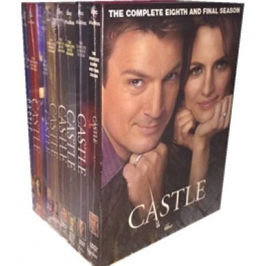 Castle DVD Complete Series 1-8 Box Set