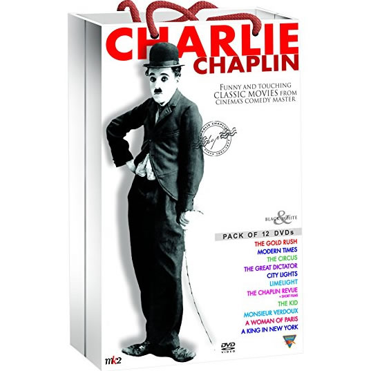 Charlie Chaplin Classic Collection DVD Box Set