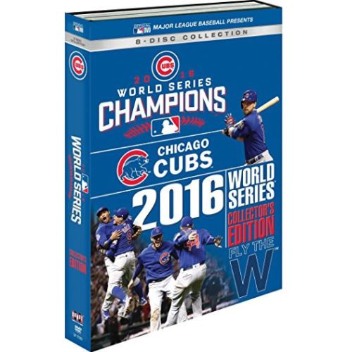 Chicago Cubs 2016 World Series DVD Box Set