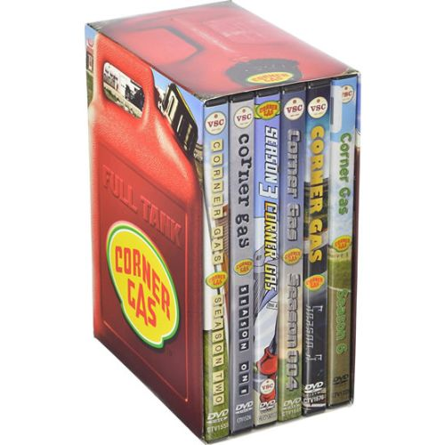 Corner Gas DVD Complete Series Box Set
