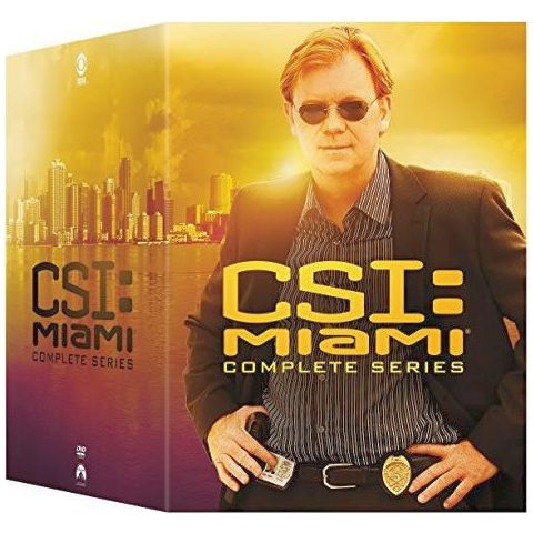CSI: Miami DVD Complete Series Box Set