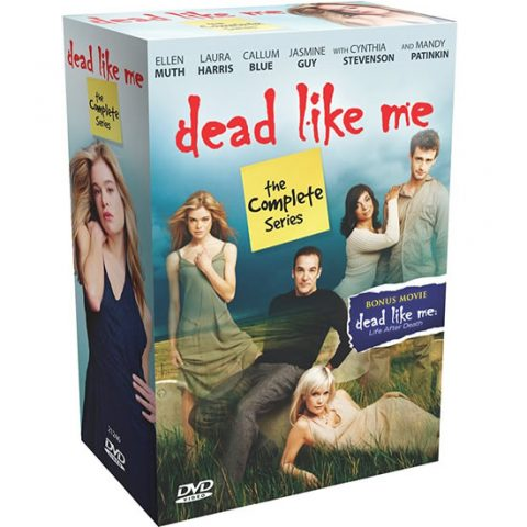 Dead Like Me DVD Complete Series 1-2 Box Set