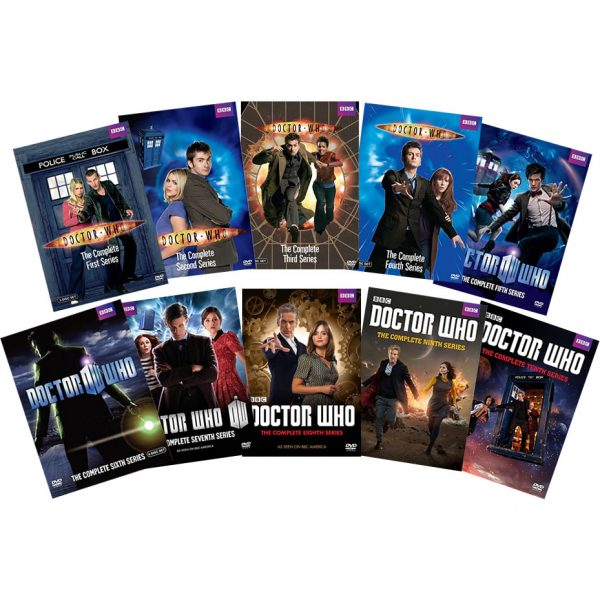 Doctor Who DVD Complete Series 1-10 Box Set