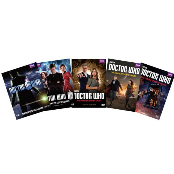 Doctor Who DVD Complete Series 6-10 Box Set