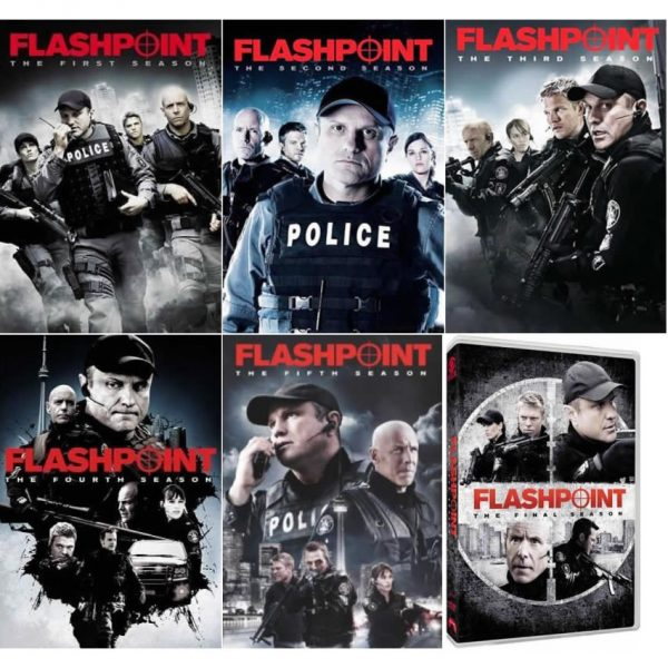 Flashpoint DVD Complete Series 1-6 Box Set
