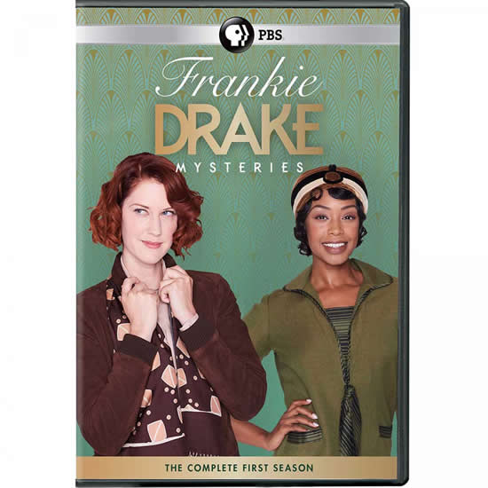 Frankie Drake Mysteries Season 1 DVD Wholesale