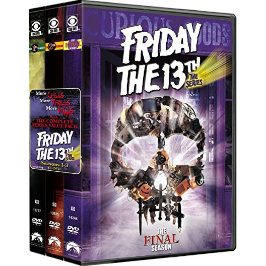 Friday the 13th DVD Complete Series 1-3 Box Set