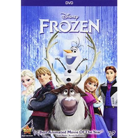 Frozen Kids Movie DVD