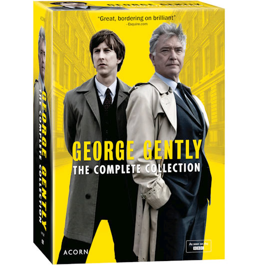 George Gently DVD Complete Series 1-8 Box Set