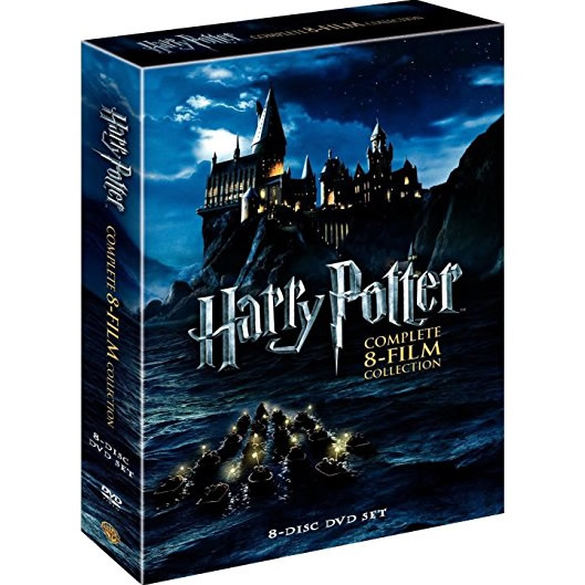 Harry Potter: Complete 8-Film Collection DVD Box Set