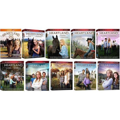 Heartland DVD Complete Series 1-10 Box Set