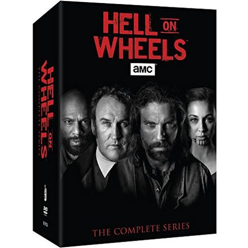 Hell on Wheels DVD Complete Series Box Set