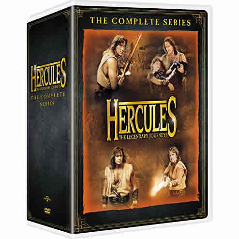 Hercules: The Legendary Journeys DVD Complete Series Box Set