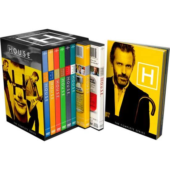 House M.D. DVD Complete Series Box Set