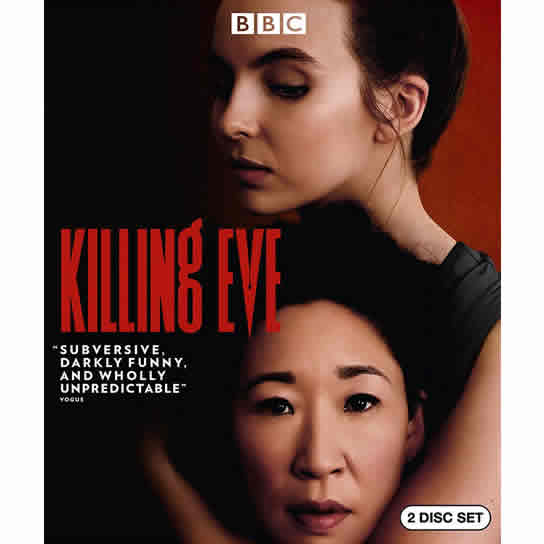 Killing Eve Season 1 DVD Wholesale