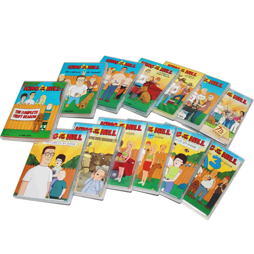 King of the Hill DVD Complete Series 1-13 Box Set