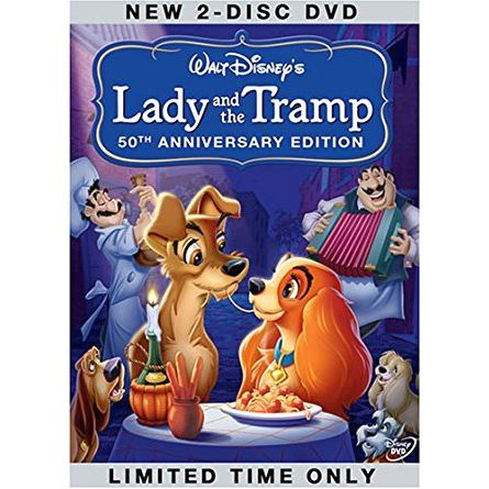 Lady and the Tramp Kids Movie DVD