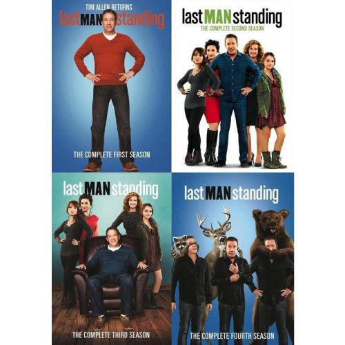 Last Man Standing DVD Complete Series 1-4 Box Set