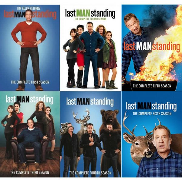 Last Man Standing DVD Complete Series 1-6 Box Set