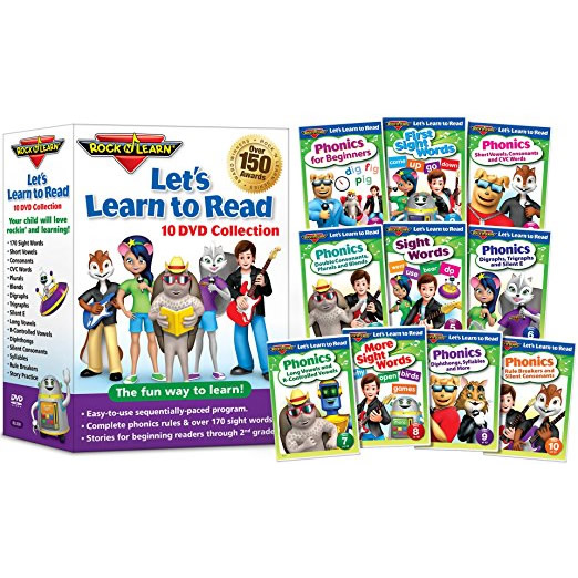 Let's Learn to Read by Rock N Learn Kids Movie DVD
