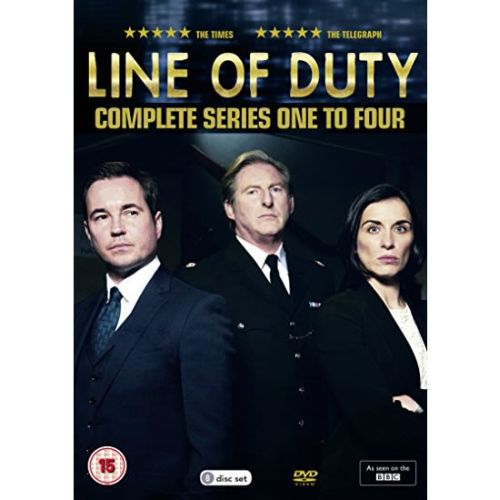 Line of Duty DVD Complete Series 1-4 Box Set