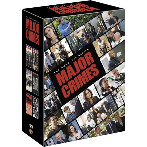 Major Crimes DVD Complete Series 1-6 Box Set