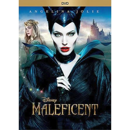 Maleficent Kids Movie DVD