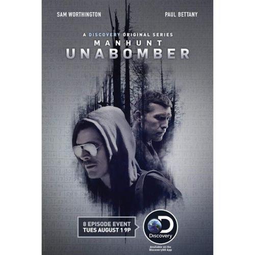 Manhunt: UNABOMBER DVD