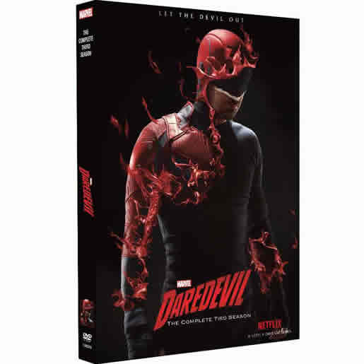Marvel's Daredevil Season 3 DVD